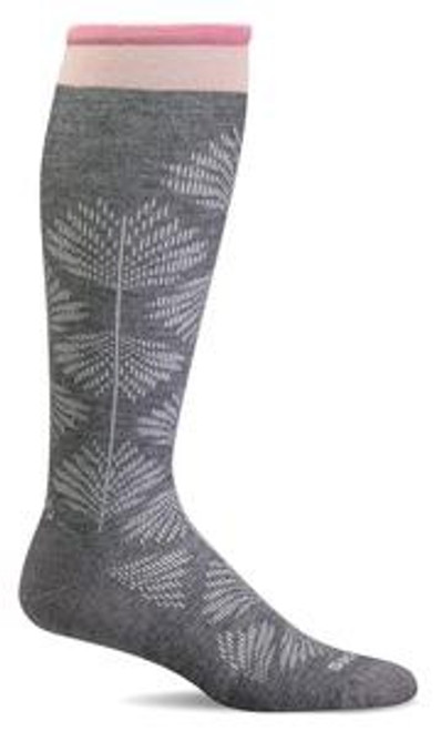 Sockwell Women's Full Floral - Charcoal