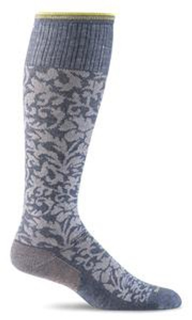 Sockwell Women's Damask - Denim