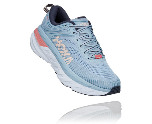 Hoka One One Women's Bondi 7 - Blue Fog/Ombre Blue
