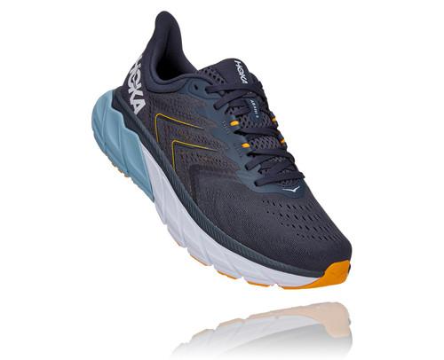 Hoka One One Men's Arahi 5 Wide - Ombre Blue/Blue Fog