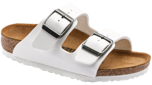 Birkenstock Children's Arizona - White BF