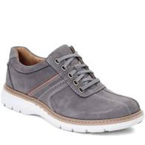Clarks Men's Un Ramble Go - Dark Grey Nubuck