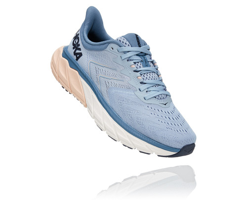 Hoka One One Women's Arahi 5 Wide - Blue Fog/Provincial Blue