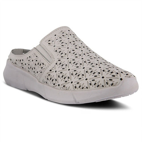 Spring Step Women's Softsidele - White