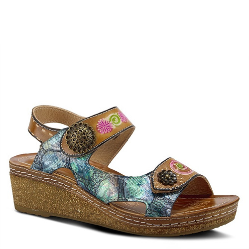 Spring Step Women's Tiffinal - Camel Multi