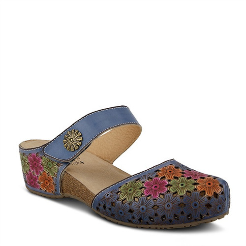 Spring Step Women's Spikey - Blue Multi