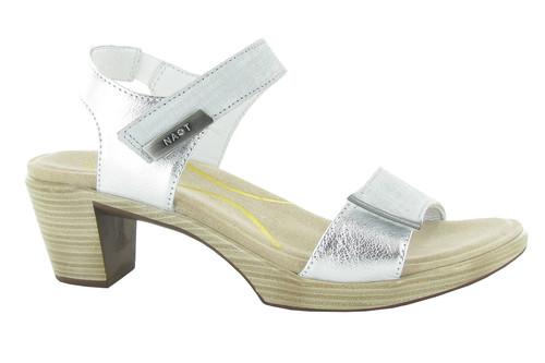 Naot Women's Intact - Gray Linen/Soft Silver