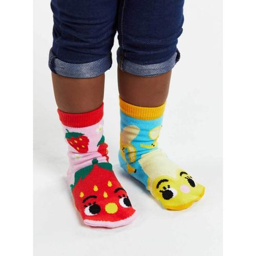 Pals Children's Socks - Strawberry & Banana
