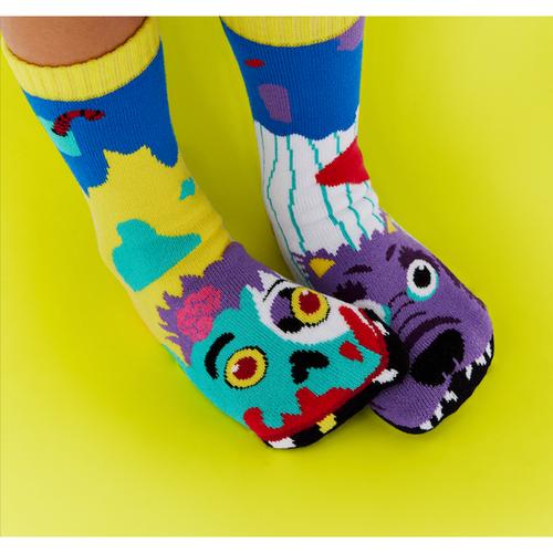 Pals Children's Socks - Zombie & Werewolf