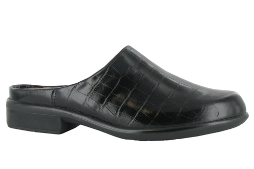 Naot Women's Lodos - Black Croc Leather
