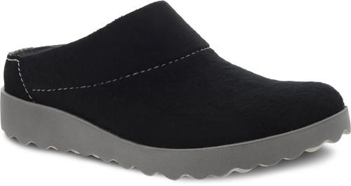 Dansko Women's Lucie - Black Wool