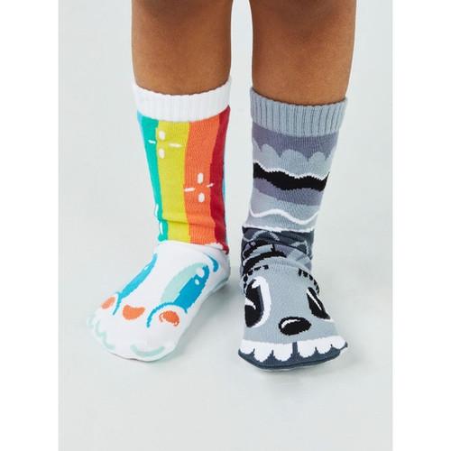 Pals Children's Socks - Rainbow Face & Mr Gray