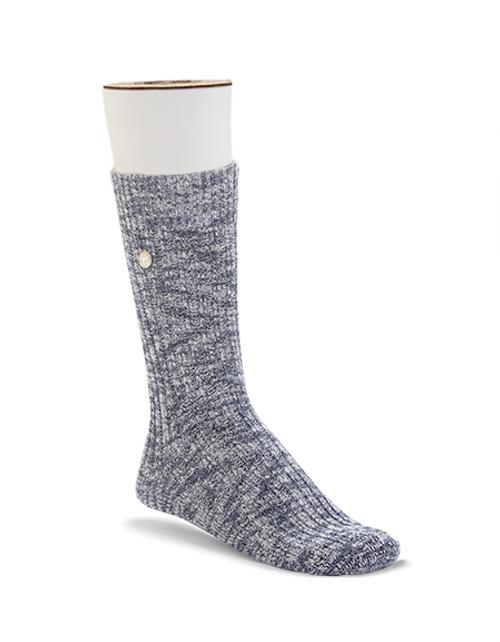 Birkenstock Men's Slub Sock - Blue