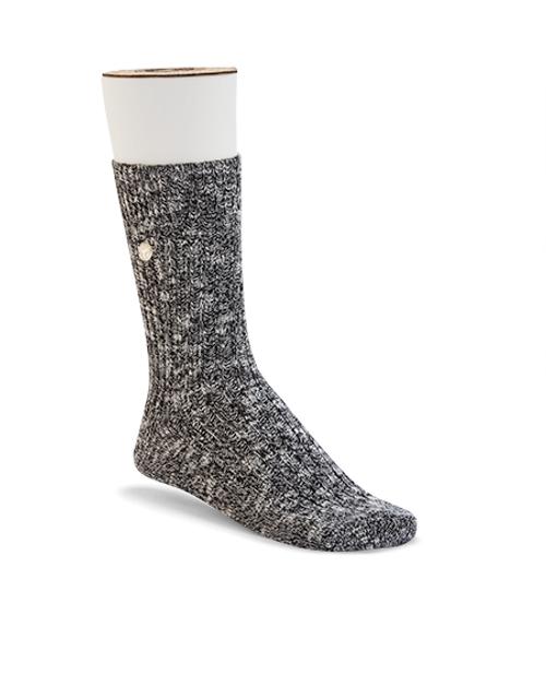 Birkenstock Men's Slub Sock - Black