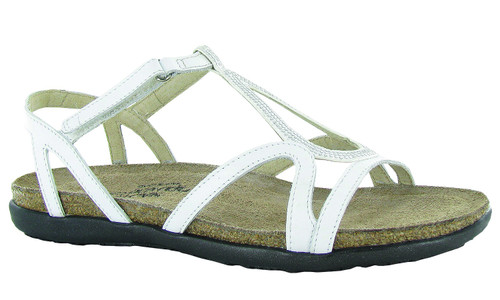 gladiator inspired sandal with rivet accents