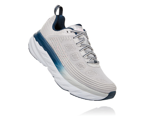 Hoka One One Bondi 6 Lunar Rock/Nimbus Cloud
