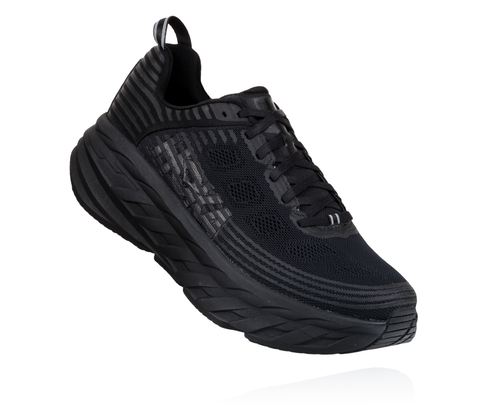 Hoka One One Bondi 6 Black Mesh