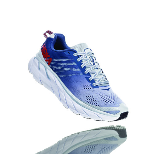 Hoka One One Women's Clifton 6 Plein Air/Moonlight Blue