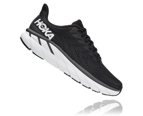 Hoka One One Women's Clifton 7 Black/White