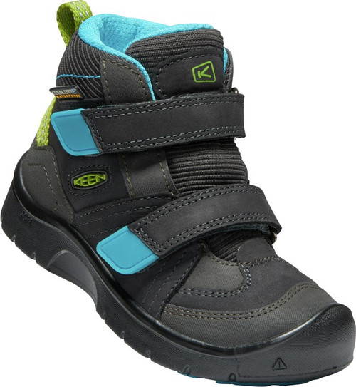 Keen Children's Hikeport Mid Strap WP - Magnet/Greenery