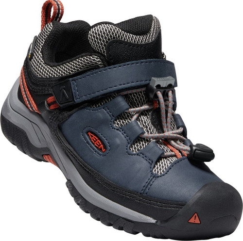 Keen Children's Targhee Low WP - Blue Nights/Rooibos Tea