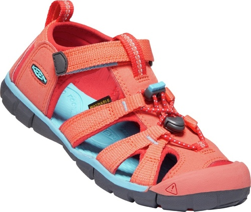 Keen Children's Seacamp II CNX - Coral/Poppy Red