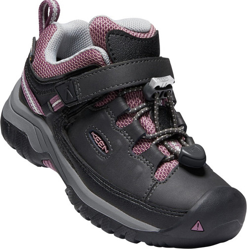 Keen Children's Targhee Low WP - Raven/Tulipwood