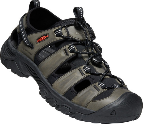 Keen Men's Targhee III Sandal - Grey/Black