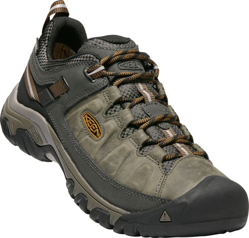 Keen Men's Targhee III WP - Black Olive/Golden Brown