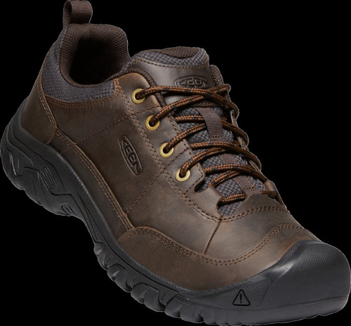 Keen Men's Targhee III Oxford - Dark Earth Mulch
