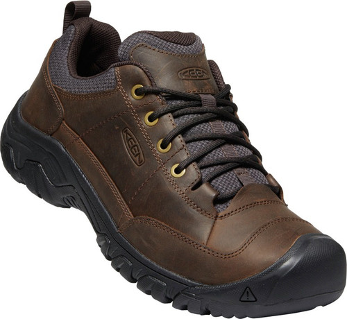 Keen Men's Targhee III Oxford Wide - Dark Earth/Mulch