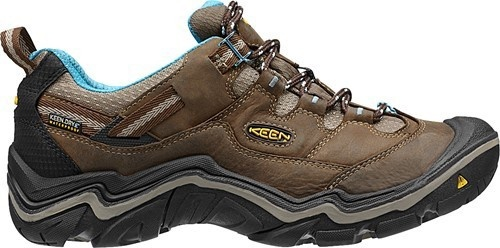 Keen Women's Durand Low WP - Dark Earth/Alaskan Blue