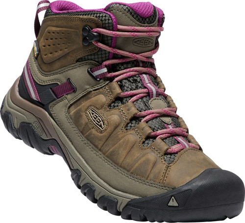 Keen Women's Targhee III Mid WP - Weiss/Boysenberry
