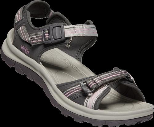 Keen Women's Terradora II Open Toe Sandal - Dark Grey/Dawn Pink