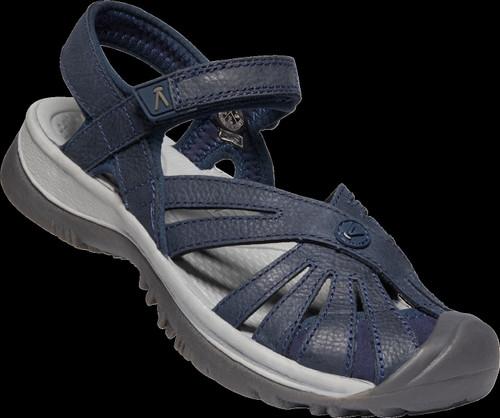 Keen Women's Rose Sandal Leather - Navy