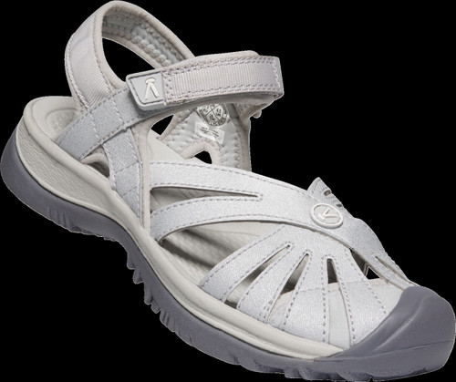 Keen Women's Rose Sandal - Light Gray/Silver