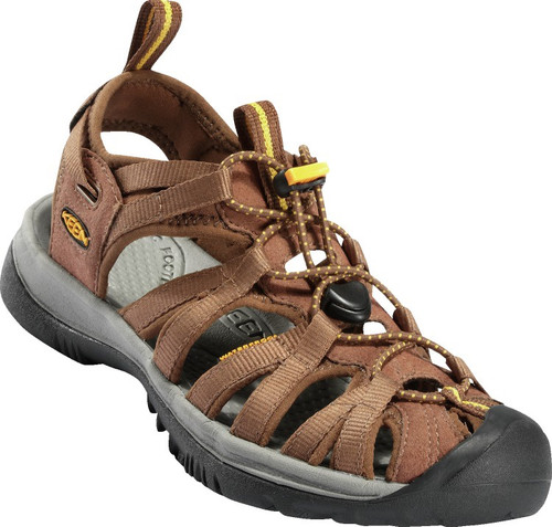 Keen Women's Whisper - Coffee Liqueur/Keen Yellow