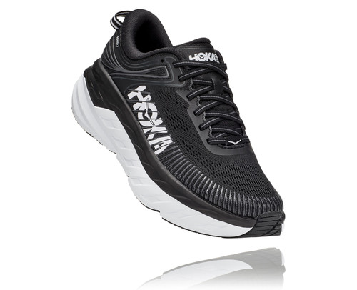 Hoka One One Bondi 7 Wide Black/White