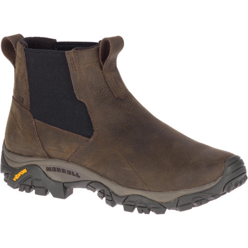 Merrell Men's Moab Adventure Chelsea PLR WP Wide - Brown