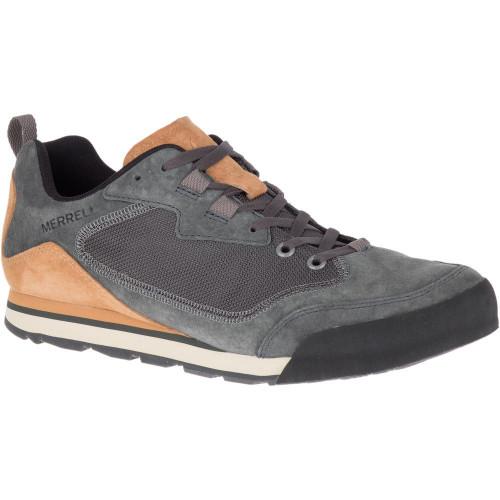 Merrell Men's Burnt Rock Travek Suede - Granite