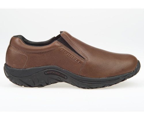 Merrell Men's Jungle Moc Leather - Mahogony