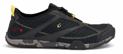 Olukai Men's 'Eleu Trainer - Black/Black