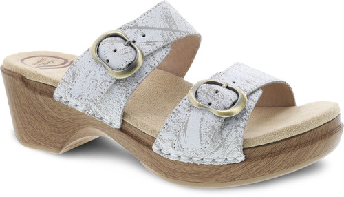 Dansko Women's Sophie - White Distressed