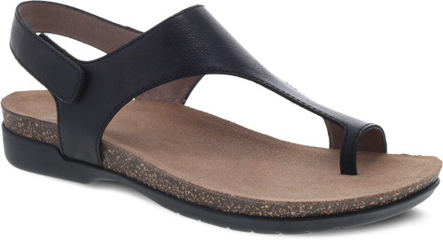 Dansko Women's Reece - Black Waxy Burnished