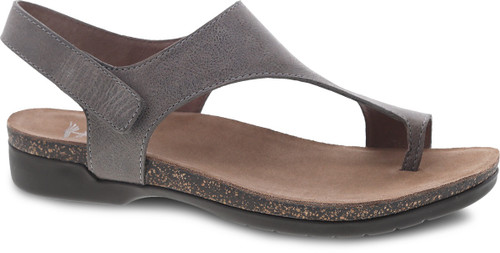 Dansko Women's Reece - Stone Waxy Burnished