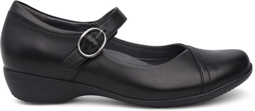 Dansko Women's Fawna Wide - Black Milled Nappa