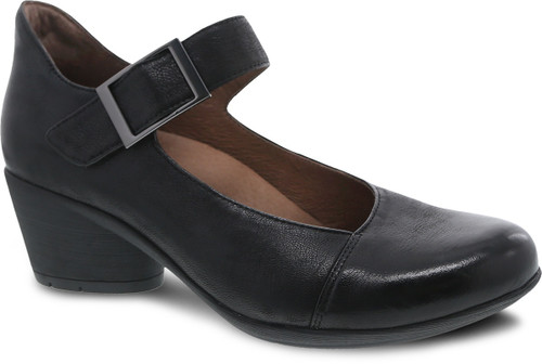 Dansko Women's Roxanne - Black Burnished Nubuck