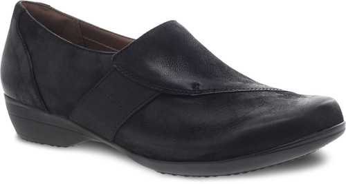 Dansko Women's Fae - Black Burnished Nubuck