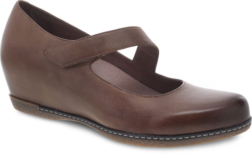 Dansko Women's Lanie - Tan Burnished Nubuck