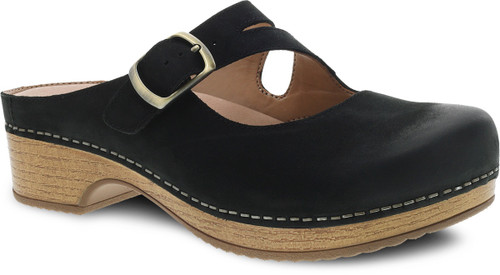 Dansko Women's Britney - Black Burnished Nubuck